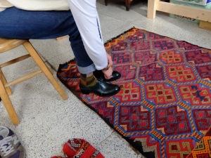 cagraの靴を履く